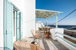 Балкон или терраса в Villa Meliti