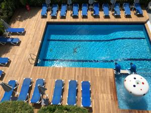 A view of the pool at Katia Hotel or nearby