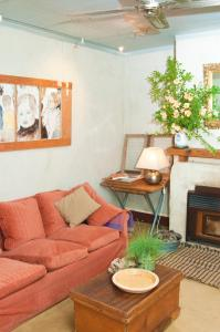 A seating area at Marsh House