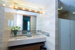 Salle de bains dans l'établissement Lancaster Bangkok