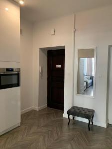 Kuchyň nebo kuchyňský kout v ubytování Warsaw Premium Apartments Old Town