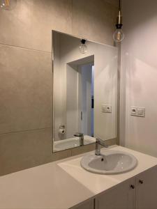 Koupelna v ubytování Warsaw Premium Apartments Old Town