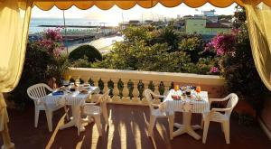Балкон или терраса в Hotel Italia