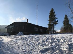 Chata Brian v zimě