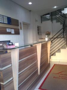 O saguão ou recepção de Luman Hotel