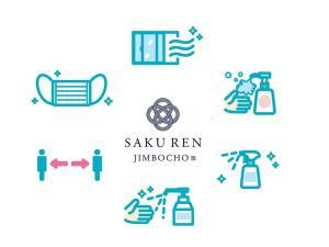 The floor plan of SAKU REN Jimbocho
