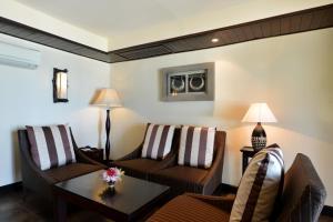 Istumisnurk majutusasutuses Andaman White Beach Resort