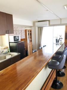 A kitchen or kitchenette at Fuji Gotemba Condominium Tannpopo