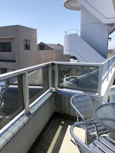 A balcony or terrace at Fuji Gotemba Condominium Tannpopo
