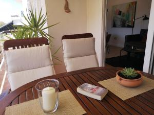 A seating area at Apartments Antoana