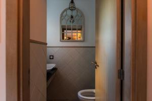 Uma casa de banho em Casa de São Miguel