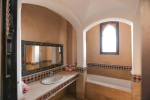 A bathroom at Top Garden Villa Marrakech