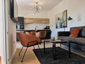 A kitchen or kitchenette at Apartments Antoana