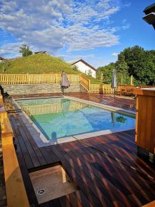 Бассейн в Relax Guest Hause Marjanca или поблизости