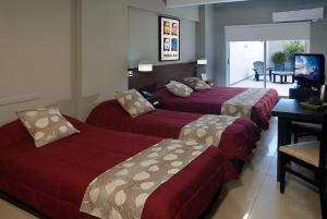Una cama o camas en una habitación de Up Studios