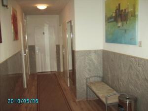 Ein Sitzbereich in der Unterkunft Hotel Garni Nord