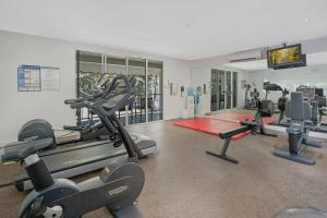The fitness center and/or fitness facilities at Elysium The Beach Club