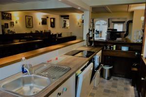 Küche/Küchenzeile in der Unterkunft Hinkelshof