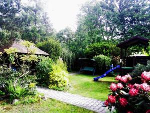 Zahrada ubytování CHALUPA OSTRAVICE