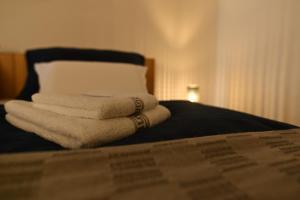 Postel nebo postele na pokoji v ubytování Apartmán 5FIVE