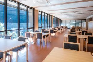 出雲湯村温泉国民宿舎清嵐荘 にあるレストランまたは飲食店