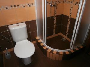 Koupelna v ubytování Apartmán Pohoda