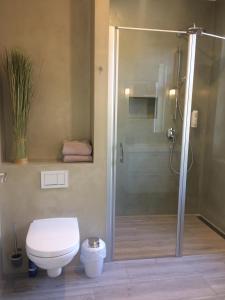 Ein Badezimmer in der Unterkunft Gästehaus Muhl