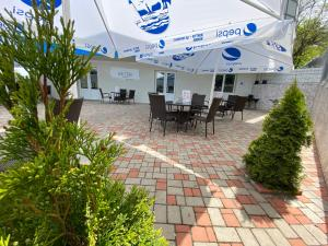 A restaurant or other place to eat at Black Sea Hotel Otrada