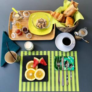 Breakfast options available to guests at Hotel Gondwana - ECO-FRIENDLY