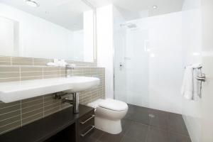 A bathroom at Abode Woden