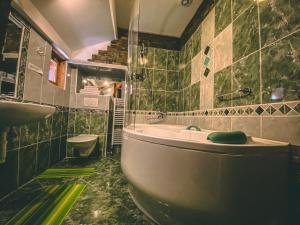 Koupelna v ubytování Resort Svět