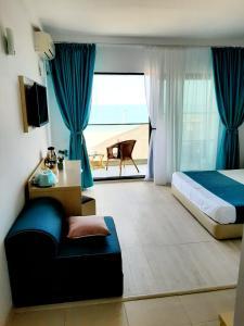 O zonă de relaxare la Vila Ryanna Beach