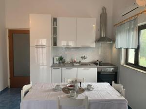 A kitchen or kitchenette at Apartments Ema
