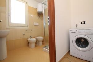 A bathroom at Casa Venere