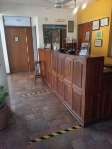 El lobby o recepción de Hotel Terrazas del Rincon