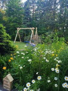 Ogród w obiekcie Sybillenort