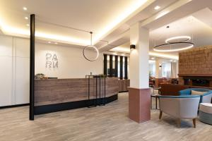 The lobby or reception area at Park Hotel