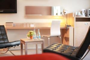 En sittgrupp på Spar Hotel Majorna