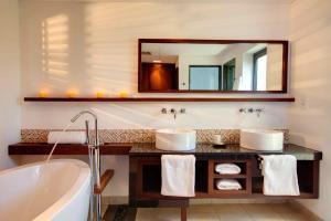 A bathroom at Villa Solara by Oazure 1-8 persons