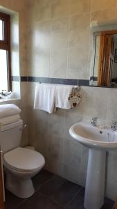 A bathroom at Corrib View Lodge
