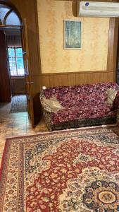 A bed or beds in a room at Vacation home on ulitsa Lienina 5