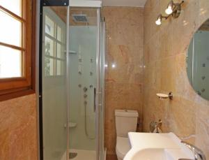 Salle de bains dans l'établissement B&B Casa La Palma