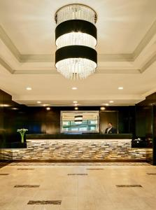 The lobby or reception area at Las Vegas Marriott