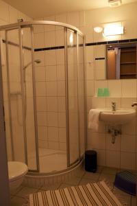 Ein Badezimmer in der Unterkunft ABC Bildungs- und Tagungszentrum e.V.