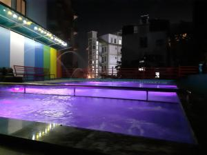 The swimming pool at or close to Anh Dao Hotel