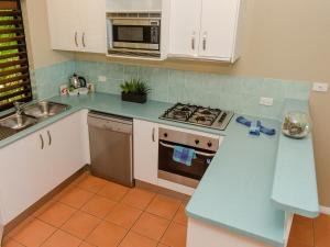 A kitchen or kitchenette at Compass Point
