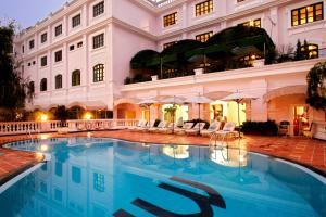 The swimming pool at or close to Saigon Morin Hotel