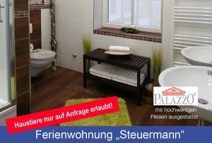 Ein Badezimmer in der Unterkunft Villa Lotsenberg
