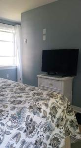 A television and/or entertainment centre at Dove House Bed & Breakfast Harbourside