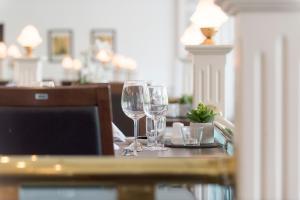 En restaurant eller et andet spisested på Hotel des Nordens